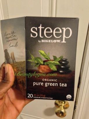 Bigelow organic green tea (bags)